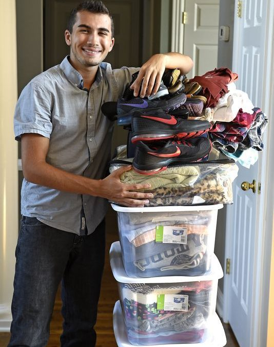 Franklin High student provides clothes for teens in need