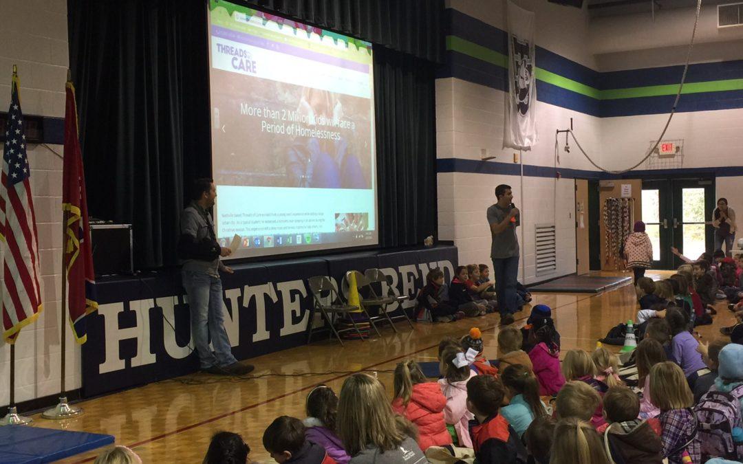 Elementary School Kids Fighting Poverty