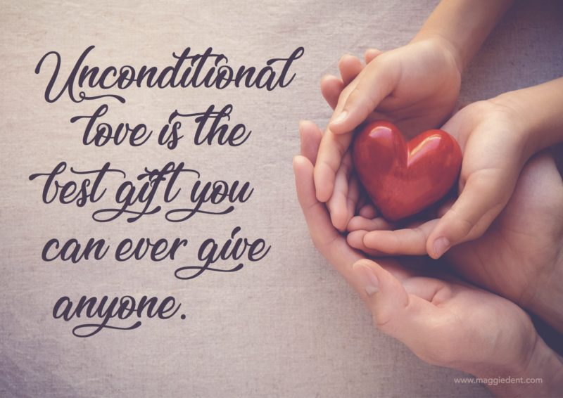 Unconditional Love Helps Drive New Goals