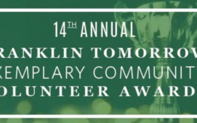 Executive Director Olivia Wolfson wins Youth Initiative Award at Franklin Tomorrow's Exemplary Community Volunteer Awards